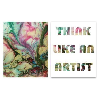Poszter szett, keret nélkül, 40x50 cm, színes - ARTISTE
